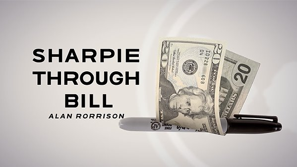 Sharpie Through Bill by Alan Rorrison and SansMinds